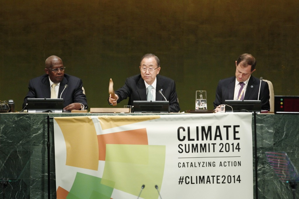 climate summit 2014 by UN
