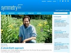 Professor Harte Featured in DOE's Symmetry