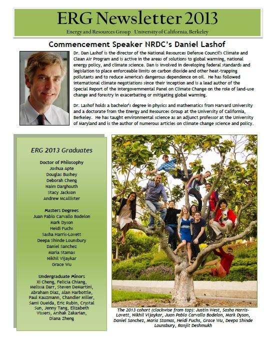 ERG Newsletter 2013 (thumbnail)