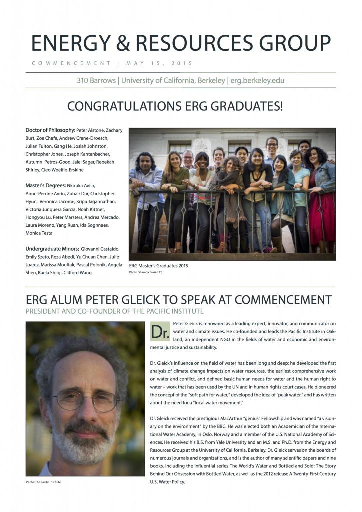 ERG Newsletter 2015