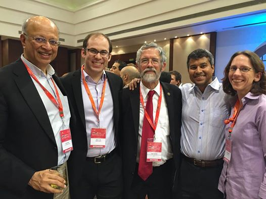 ERGies in Delhi with John Holdren