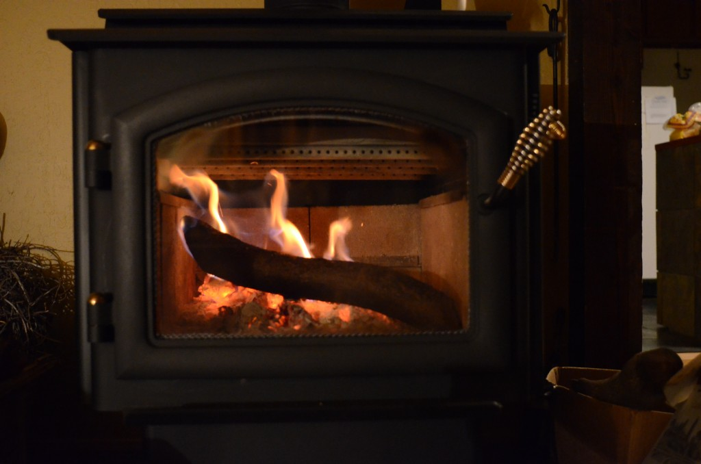 EPA-certified wood stove in US