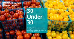 ERG Student Receives the Global Food Initiative 30 under 30 Award