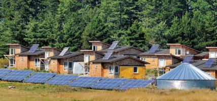 """Solar Powered """"Net-Zero Community"""" on Lopez Island, WA"""