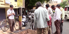 Isha Ray and Chris Hyun Analyze Issues with Water Access Alerts in Bangalore