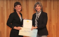 ERG PhD Student Nancy Freitas Wins Berkeley Grad Slam Competition