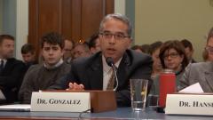 ERG Alum Patrick Gonzalez Testifies to Congress on Global Warming Risks