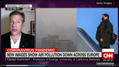 CNN Interviews Kammen on COVID-19 and Pollution Levels
